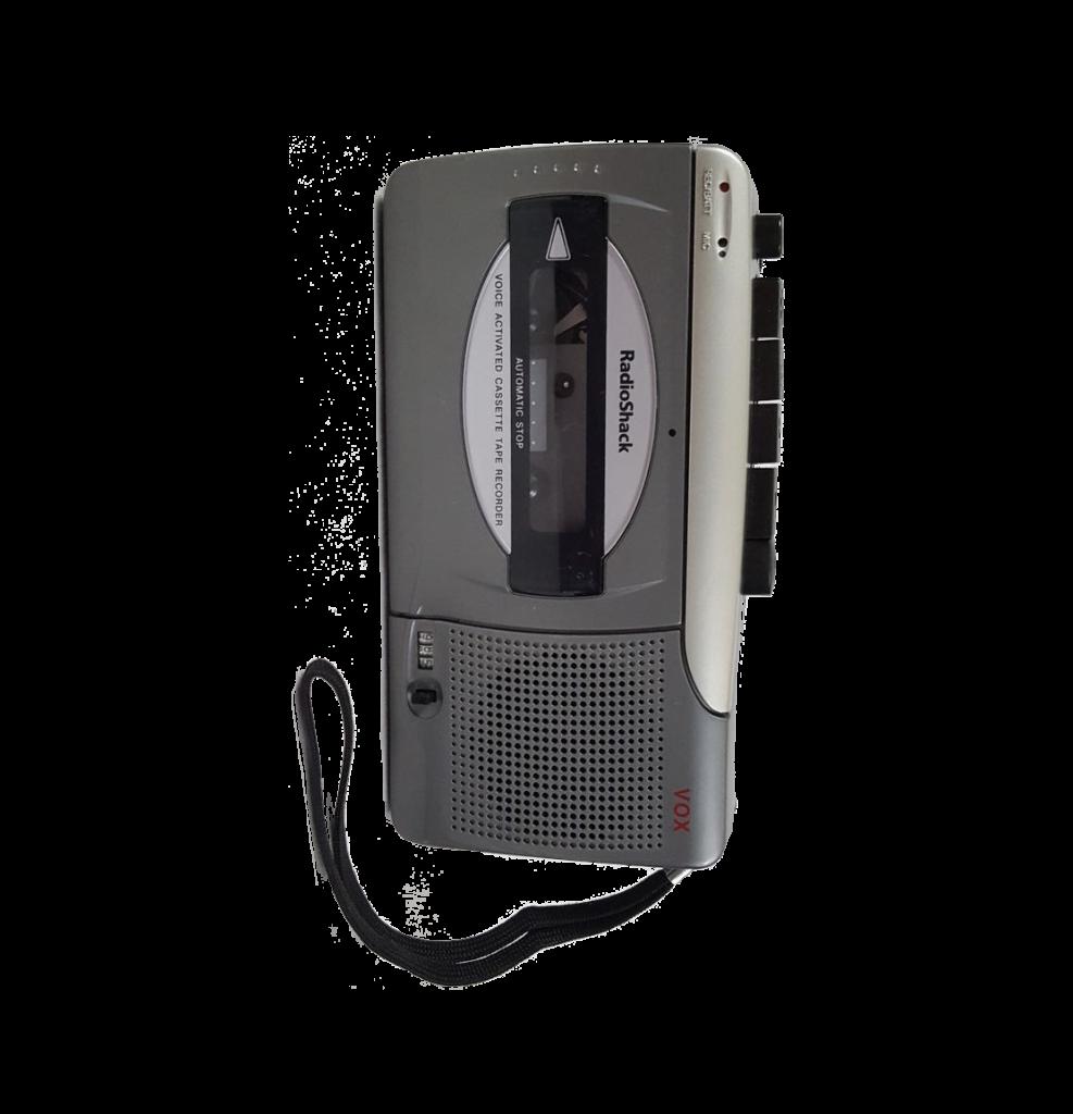 Grey Radio Shack Tape Recorder